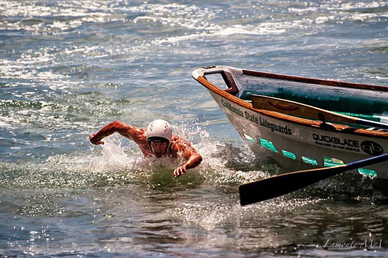 Demo Dory Boats and Lifeguard agility