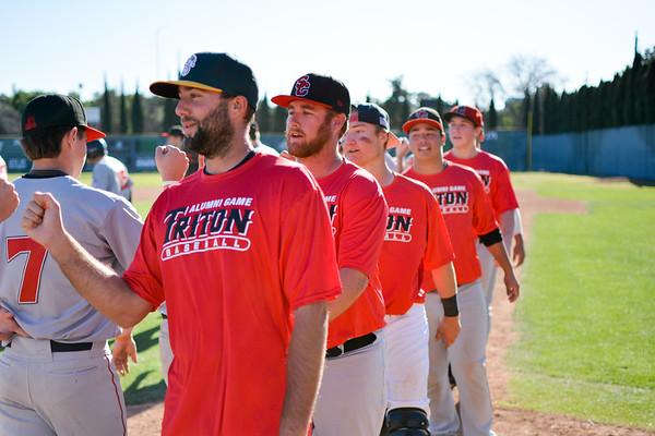 SC Triton Baseball Alumni Game