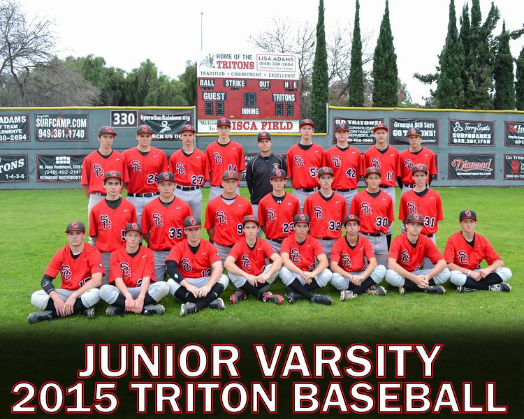 Junior Varsity Team & Individual Photos