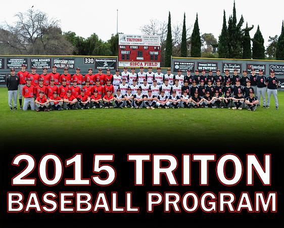 2015 San Clemente Triton Baseball