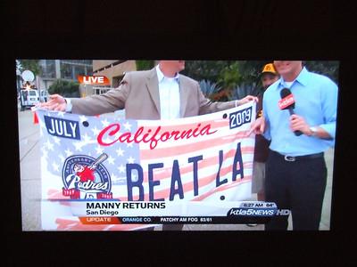 San Diego Padres Giveaway - 7/4/09