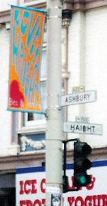 Corner of Haight & Ashbury