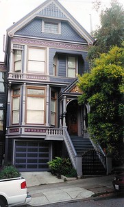 Original Grateful Dead house in the Haight