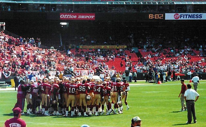 Pre-game Team Huddle
