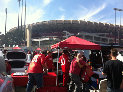 49ers vs Houston, October 6, 2013
