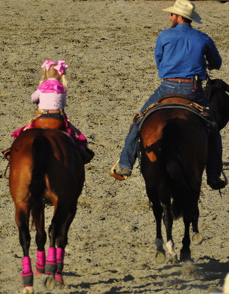 Little miss pink cowgirl couture