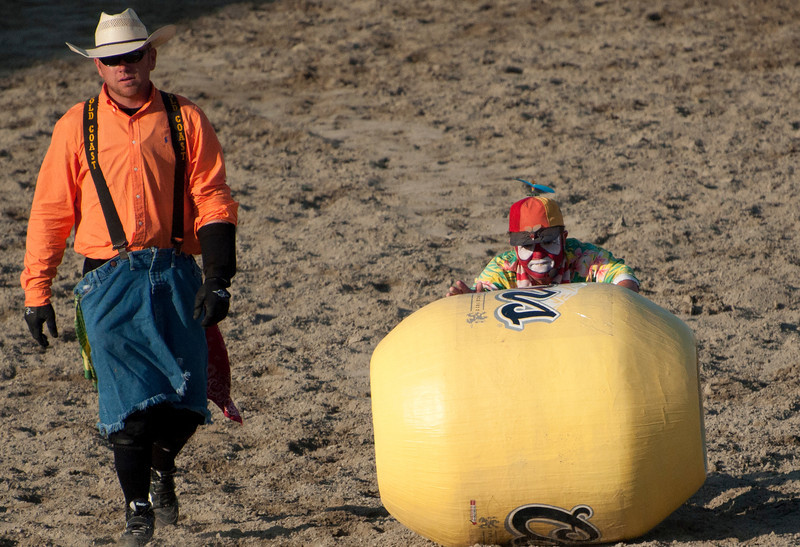Rodeo clowning around