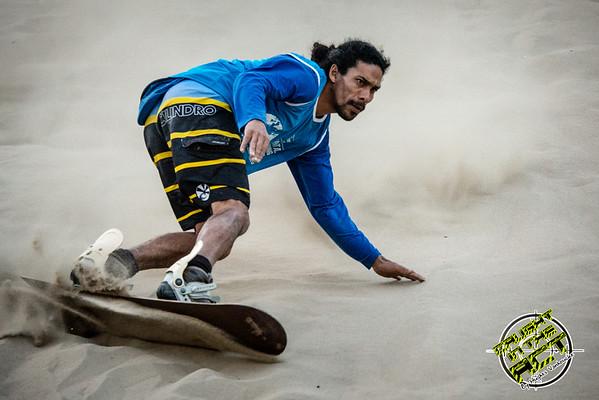 Sandboarding @ Huacachina - Peru