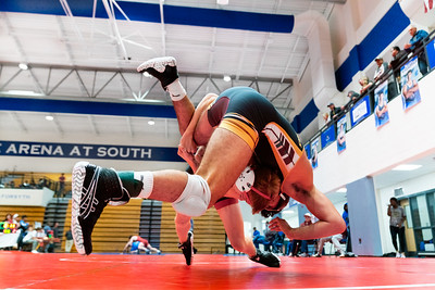 Wrestling at South Forsyth Highschool