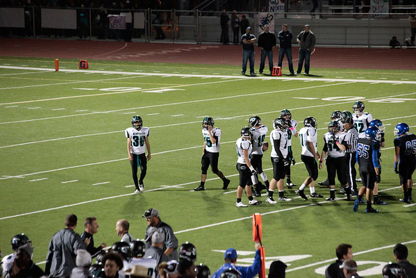 Santiago/Norco Football game 2011