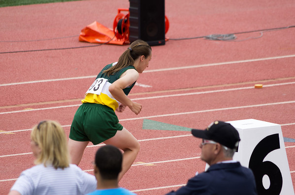 Sarah Kottwitz at 2014 Nebraska State  Track  Meet