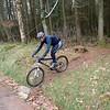 Vintage cyclist