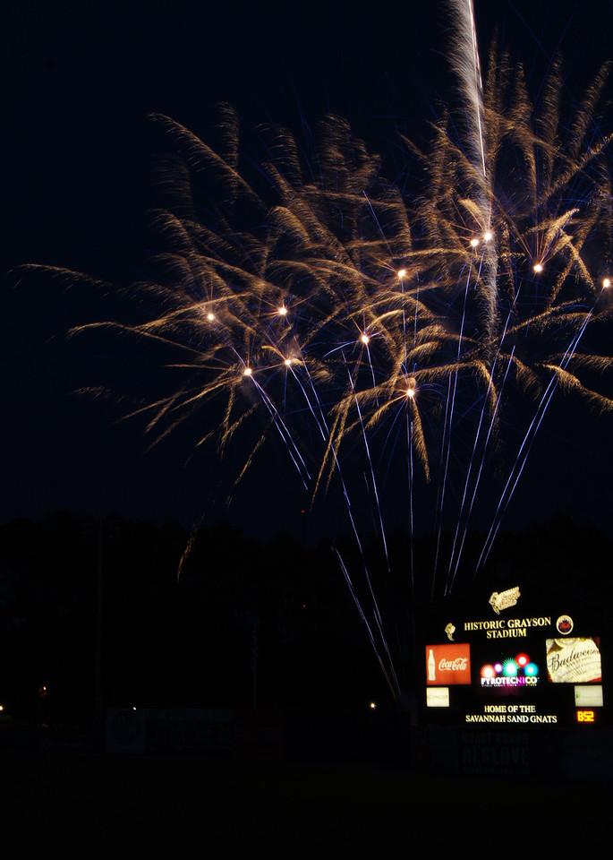 Sand Gnat Fireworks