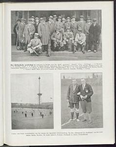 19290421 Het Nederlands elftal naar Berlijn.  Hier opgenomen vanwege origineel bovenste foto.  De Corinthian 6 (1928-1929) 19 april 1929.