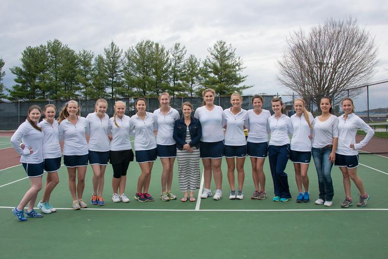 CHS Tennis Team 2014