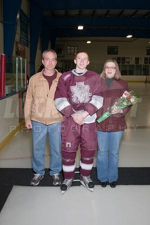 Mechanicsburg Ice Hockey Senior Night