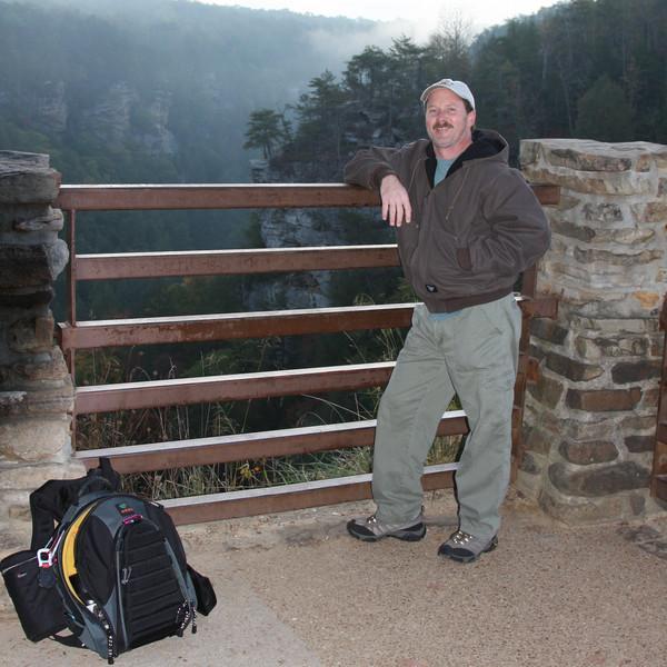 Me, aka Scott Milner at Fall Creek Falls