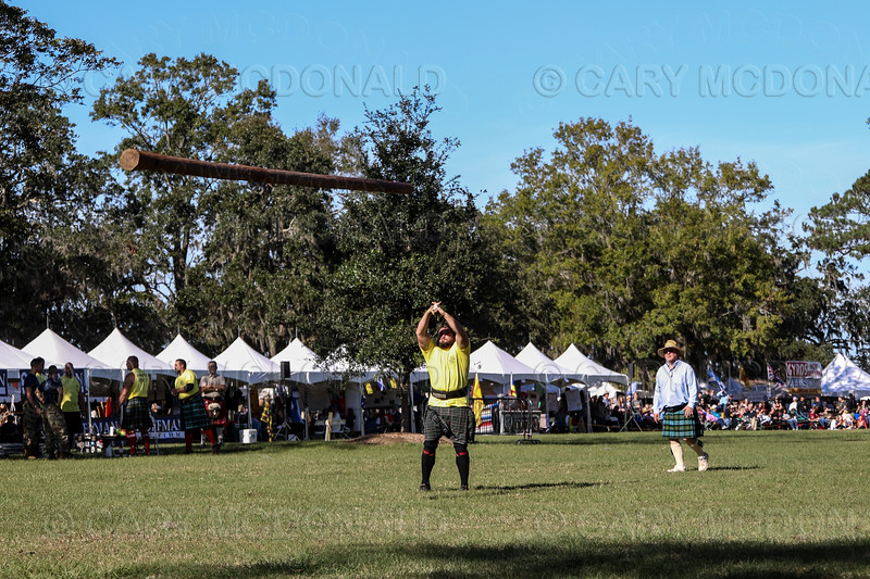 Charleston Scottish Games highland gathering