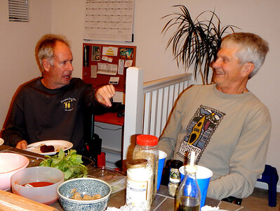 Mark and Bill in conversation