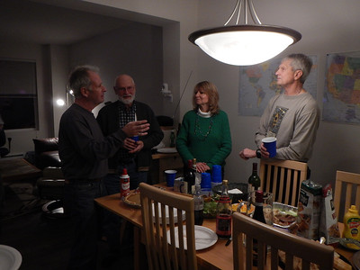Some of the tasters : Mark Greengo, Bob Sampson, Millie and Bill Porter