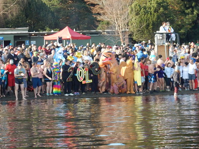Resolution Run & Polar Bear Plunge 1-1-2018