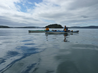 The water was smooth on our way back to Deer Harbor on Orcas Island