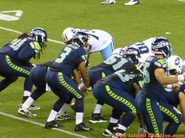 Seattle Seahawks vs Tenessee Titans PreSeason Gm1