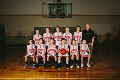 MS Boys JV Basketball