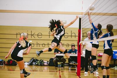 2014-10-01 Girls Volleyball vs Cascade