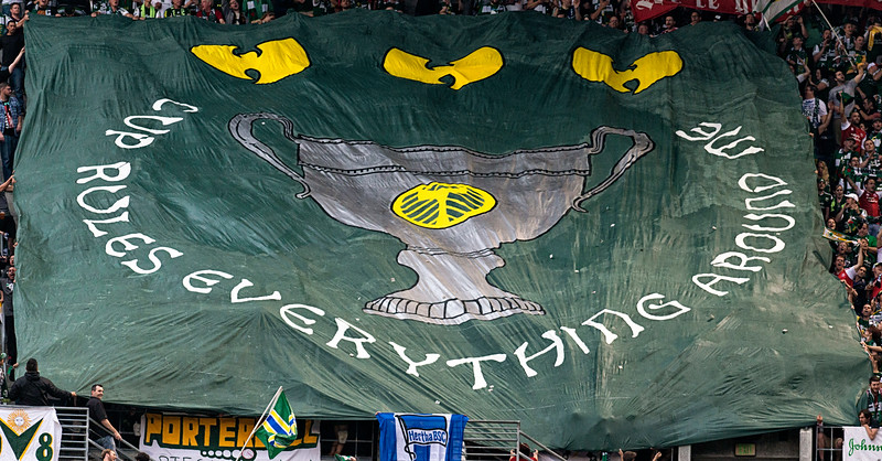 Timbers Army's Tifo