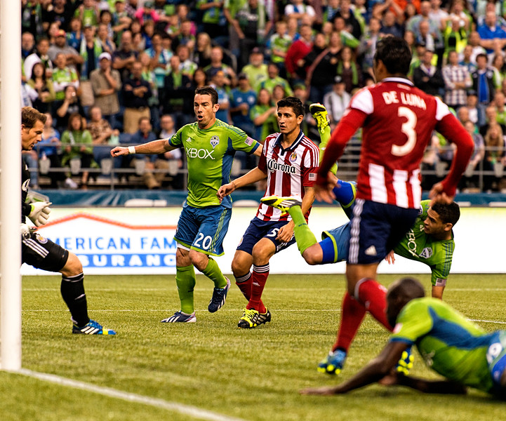 Neagle, still going ninja, obeying gravity after scoring