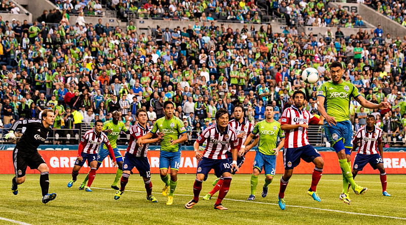 Another flick-header from Neagle
