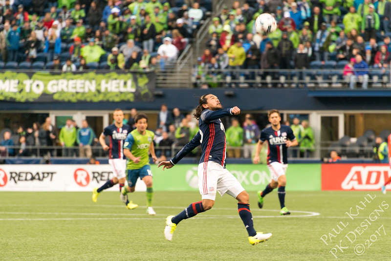 Seattle Sounders FC vs New England Revolution FC