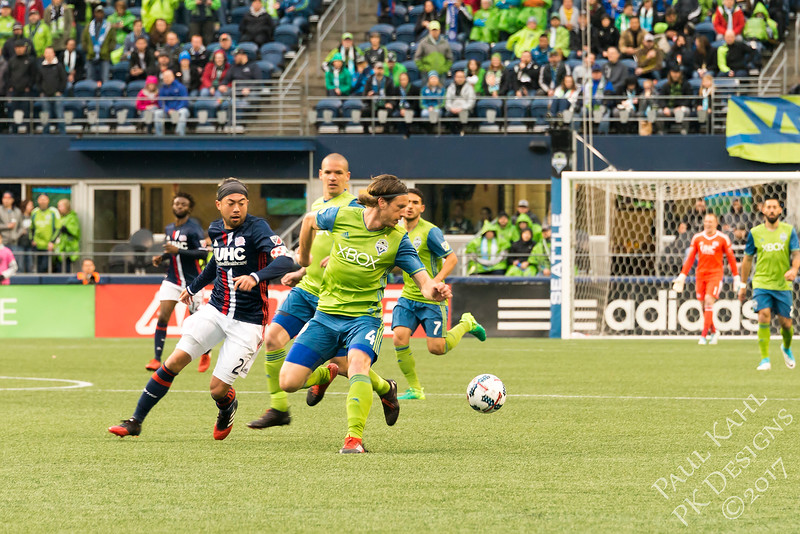 Seattle Sounders FC vs New England Revolution FC