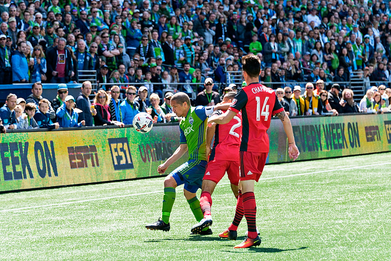 Seattle Sounders FC vs Toronto FC
