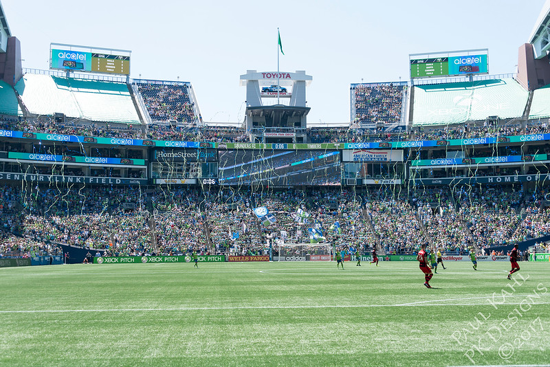 Seattle Sounders FC vs Portland Timbers FC