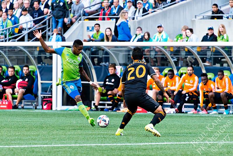 Seattle Sounders FC vs Houston Dynamo