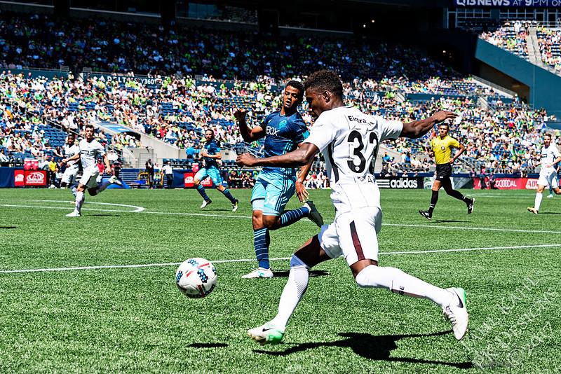 Seattle Sounders FC vs Eintracht Frankfurt