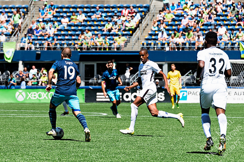 Seattle Sounders FC vs Eintracht Frankfurt