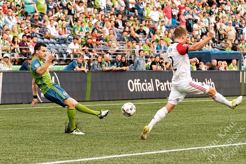Seattle Sounders FC vs D.C. united