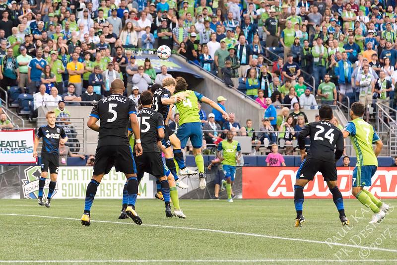 Seattle Sounders FC vs San Jose Earthquakes
