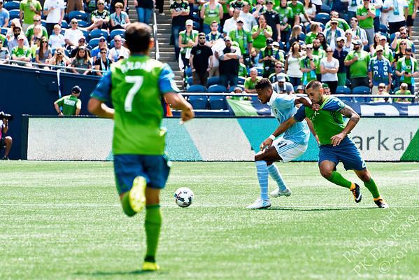 Seattle Sounders FC vs Sporting Kansas City FC