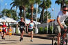 And the kids are off! JB and Syd ran their first race; a 1 kilometer run.