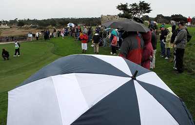 Second round AT&T Pebble Beach - 020714