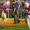 6-2-14 --  Sectional Baseball Finals Northwestern vs West Lafayette HS with Northwestern winning. Evan Matlock celebrating with Austin Pyle after scoring the tieing run, sending the game into extra innings.   ---<br /> Tim Bath | Kokomo Tribune