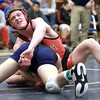 2-1-14<br /> Sectional Wrestling<br /> Taylor's Logan Sarber in the 160<br /> KT photo | Kelly Lafferty