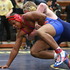 2-1-14<br /> Sectional Wrestling<br /> Kokomo's Cameron Fitts in the 285<br /> KT photo | Kelly Lafferty