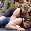 2-1-14<br /> Sectional Wrestling<br /> Western's Russell McDorman in the 195<br /> KT photo | Kelly Lafferty