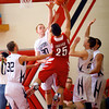 3-10-14  ---  Sectional boys play between Western HS and Twin Lakes. -- <br /> KT photo | Tim Bath