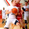 3-10-14  ---  Sectional boys play between Western HS and Twin Lakes. -- <br /> KT photo   Tim Bath